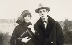 Vladimir Nabokov and Véra, his future wife, in Berlin, c.1924