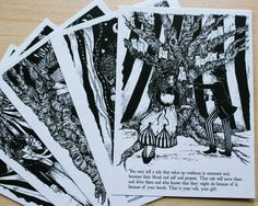 The Night Circus Postcard Pack. £5.00, via Etsy.