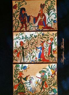 GotikART , Fuchs trifft auf Gotik von ♥❀・゚・゚・ 。・。 Amylisa-Malerei  。・。・゚ ・゚❀♥ auf DaWanda.com