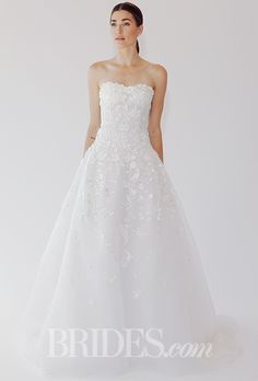 Brides: Oscar De La Renta Wedding Dresses   Fall 2015   Bridal Runway Shows   Brides.com | Wedding Dresses Style