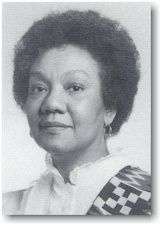 """Frances Cress Welsing (born March 18, 1935), is an African American psychiatrist practicing in Washington, D.C.. She is noted for """"Cress Theory of Color Confrontation"""", which explores the practice of white supremacy. She is the author of The Isis Papers; The Keys to the Colors (1991), in which she posits that white people are the genetically defective descendants of albino mutants."""