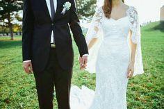 Jovana i Nikola, venčanica Manuel Mota – Vereda