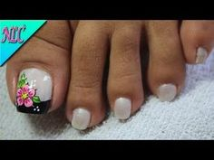 64 Ideas Fails Art French Rosa - So Funny Epic Fails Pictures Summer Toe Designs, Nail Designs Spring, Toe Nail Designs, Love Nails, Fun Nails, Natural Acrylic Nails, French Pedicure, Pretty Designs, Toe Nail Art