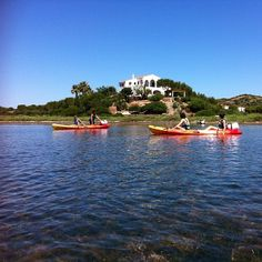 Bahía de Fornells - Menorca - Kayak  http://www.VisitMenorca.com #menorca #menorcanatural