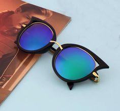 Retro Chic Cat Eye Sunglasses by SeductiveVintage on Etsy