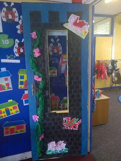 classroom door - castle