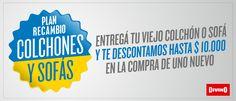 Desde nuestro sitio podés acceder a productos y ofertas especiales en Colchones y Sommiers, Dormitorio, Placares, Living, Sofás, Comedor, Escritorio y más! Mirá el catálogo y comprá online.