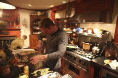 """Ryan working his culinary """"no sugar"""" magic!"""