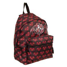 Black Veil Brides Logo Backpack (Black/Red) | Blue Banana UK