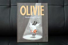 mimi malá knihomilka: Ian Falconer: OLIVIE Zachraňuje cirkus