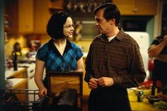 Enid and Seymour in Ghost World