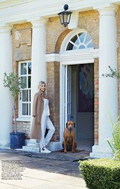 I've spent many of these cold winter days finally cleaning out the stacks of magazines in my apartment. While leafing through an old issue of UK Vogue, I came across the beautiful home of Jemma Kidd and her family. It was also featured in Elle Decor. The 18th-century house in Hampshire is on the property […]