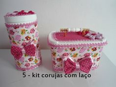 kit pote de sorvete e herbalife decorados