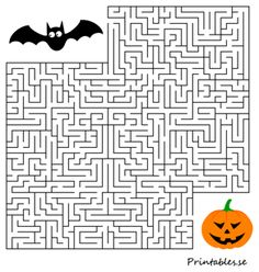 Halloween 1, Math Activities, Learn English, Free Printables, Teaching, Education, Kids, Maze, Prints