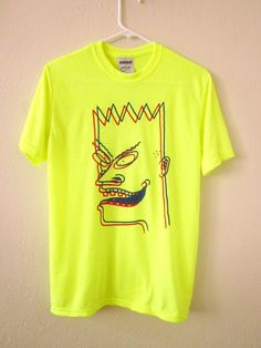 Cosmic 3-D Wannabe BeavBart shirt