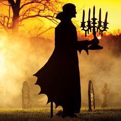 Martha Stewart Halloween Vampire Silhouette
