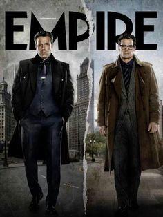 Bruce Wayne and Clark Kent