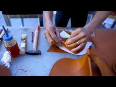 Making a Vale P. London Envelope Bag - YouTube