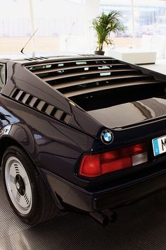 1981 BMW M1. Hello, my darling! This was my first car crush.