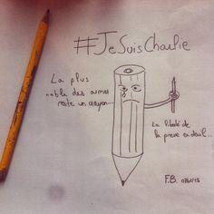 """""""#JeSuisCharlie"""""""