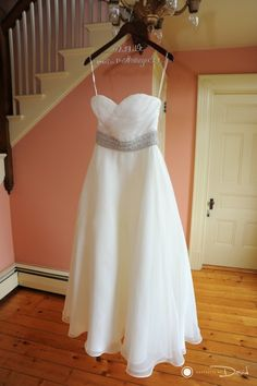 Michelle's gown #RanchGolfClubSouthwickMaWeddingPhoto
