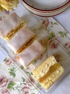 Mirabelkowy blog: Szarlotka biszkoptowa z kremem Food Cakes, Cupcake Cakes, Cupcakes, Apple Cake, Macarons, Cake Recipes, Good Food, Food And Drink, Bread