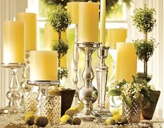 love candles & topiaries