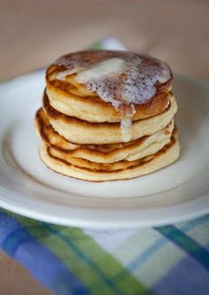 Coconut flour pancakes that I have to try!  Gluten free/dairy free!