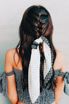 Cool And Must-Have Summer Hairstyles For Women; Must-Have Summer Hairstyles; Summer Hairstyles For Women; Scarf Hairstyles, Summer Hairstyles, Trendy Hairstyles, Braided Hairstyles, Wedding Hairstyles, Braided Mohawk, Hairstyles For Concerts, Hairdos, Hairstyles Videos