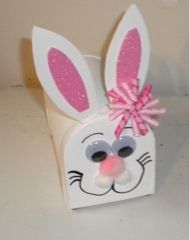 Bunny Mailbox #easter #craft