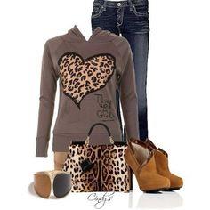 Cheetah print