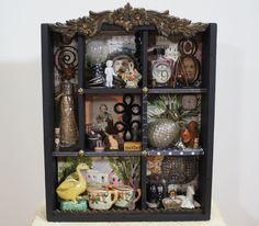 Shadow Box Wunderkammer Cabinet Of Curiosities