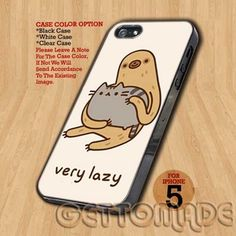 Very Lazy - Print On Hard Case iPhone 5 Case | GetToMade - Accessories on ArtFire