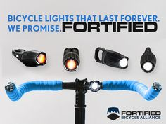 FORTIFIED: Bike Lights That Last Forever. We Promise. by Slava Menn — Kickstarter