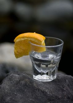 The Horny Hog at The Hog Wallow Pub in Salt Lake City includes Hornitos tequila served with an orange sprinkled with cinnamon and sugar. (Kim Raff  |  The Salt Lake Tribune)