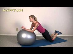 Best Stability Ball Exercises For Beginners - 12 min Workout - YouTube