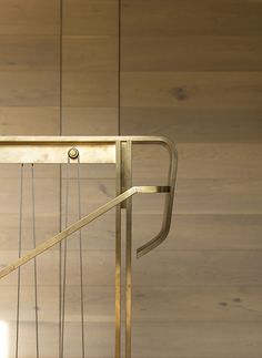 Lovely #brass detailing and cable balusters for a modern #staircase