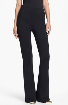St. John Collection 'Kasia' Bootcut Milano Knit Pants @Nordstrom