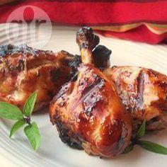Kippenpootjes die tegelijkertijd een beetje zoet en pittig zijn.