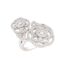 Ode To Femininity: Chanel Camelia Brode Pearl White, White Gold, Jewelry Box, Fine Jewelry, Chanel, Black Crystals, Diamond Are A Girls Best Friend, Round Cut Diamond, Diamond Rings