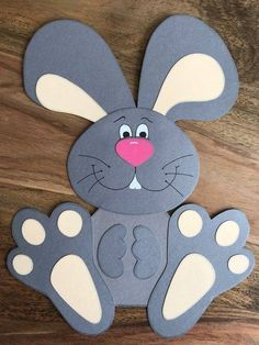 Fruhlings osterdekoration fensterbild aus tonkarton Springtime Easter is the most important Christian festival of the year, the resurrection of Jesus Christ. Bunny Crafts, Felt Crafts, Diy And Crafts, Paper Crafts, Upcycled Crafts, Easter Projects, Easter Crafts For Kids, Easter Activities, Preschool Crafts