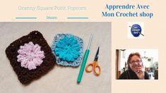 Apprendre comment faire un granny square au crochet pour les débutants. Ce…