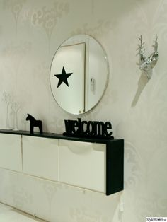 Skohylla+lösning Entrance, Ikea, Interior Design, Mirror, Room, Furniture, Home Decor, Style, Nest Design