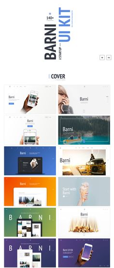 Second part of an eye catching Media UI Kit series