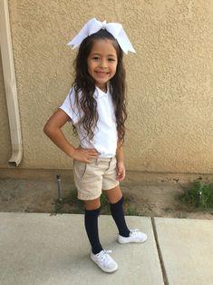 8 Natalie Uniform Ideas School Uniform Fashion Uniform Fashion Little Girl Fashion