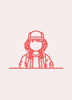 #illustration | Dustin, Stranger Things #strangerthings