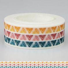 10M Trival Washi Tape  Colorfull Washi Tape  por WILDSOUL19 en Etsy