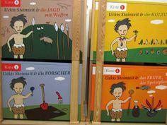 Uckis Steinzeitkisten Baseball Cards, Little Boys, Crate, Weapons