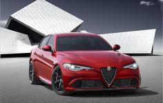 2016 Alfa Romeo Giulia.