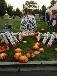 DIA DE LOS MUERTOS ☠~altar 2012